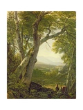 Shandaken Ridge, Kingston, New York, C.1854 Giclee Print by Asher Brown Durand