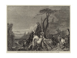 The Morning after the Battle of Hastings Giclee Print by Arthur Joseph Woolmer