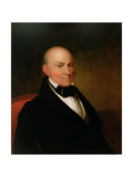 John Quincy Adams, 1835 Giclee Print by Asher Brown Durand