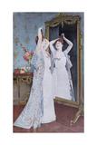 La Toilette, 1890 Giclee Print by Auguste Toulmouche