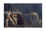 Hercules Firing Arrows at His Children Giclee Print by Antonio Canova