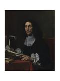 Sir Thomas Baines, 1665-70 Giclée-tryk af Carlo Dolci