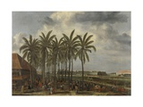 The Castle of Batavia, 1661 Giclee Print by Andries Beeckman