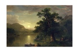 The Trysting Tree, 1868 Giclee Print by Asher Brown Durand