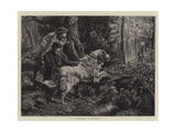 Catching a Poacher Giclee Print by Basil Bradley