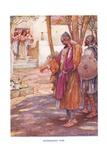 Jephthah's Vow Giclee Print by Arthur A. Dixon
