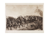 After Waterloo: Every Man for Himself, 1890 Giclee Print by Andrew Carrick Gow