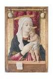 Madonna and Child, C.1468 Giclee Print by Carlo Crivelli