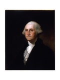 Portrait of George Washington, after a Painting by Gilbert Stuart (1755-1828) (See 149687 for Pair) Giclee Print by Asher Brown Durand