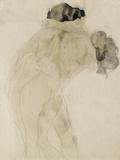 Two Embracing Figures Giclée-tryk af Auguste Rodin