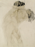 Two Embracing Figures Giclee Print by Auguste Rodin