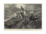 Motherless, Easedale Tarn, Westmorland Giclee Print by Basil Bradley