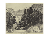 Utes on the March Giclee Print by Arthur Boyd Houghton