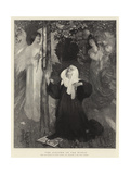 The Cloister or the World Giclee Print by Arthur Hacker