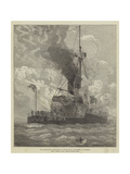 The Steam-Boiler Explosion on Board HMS Thunderer at Spithead Giclee Print by Arthur Wellington Fowles