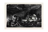 The Cavern, by Celestin Nanteuil; La Caverne Giclee Print by Celestin Francois Nanteuil