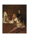A Young Lady at Her Toilet Giclee Print by Augustus Leopold Egg