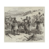 The Isthmus of Suez Maritime Canal, Labourers Removing Earth Giclee Print by Arthur Hopkins