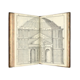 Two Views of the Pantheon, 1570 Giclee Print by Andrea Palladio
