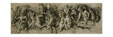 Battle of the Sea Gods Giclee Print by Andrea Mantegna