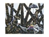 Unquiet Dreams Giclee Print by Celia Washington