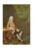 Portrait of John Orlebar, C.1740 Giclee Print by Arthur Devis