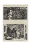 Illustrations from Faust Giclee Print by August von Kreling