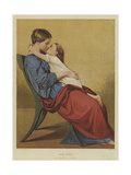 Good Night Giclee Print by Auguste Toulmouche