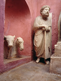 Fragments of Sculptures from the Nativity Photographic Print by Arnolfo di Cambio