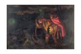 Jack O'Lantern, 1872 Giclee Print by Arthur Hughes
