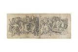 Battle of the Sea Gods, 1470s Giclee Print by Andrea Mantegna