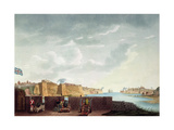 View of La Valletta During the Siege of 1800, Engraved by Francis Chesham, 1803 Giclee Print by Captain James Weir