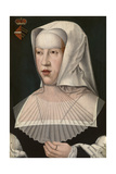 Margaret of Austria Giclee Print by Bernard van Orley