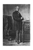 Alphonse De Lamartine Giclee Print by Ange-Louis Janet