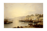 View of Burntisland Giclee Print by Andrew Wilson
