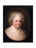 Portrait of Mrs. George Washington, 1835 Giclee Print by Asher Brown Durand