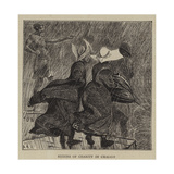Sisters of Charity in Chicago Giclee Print by Arthur Boyd Houghton