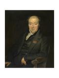 The Painter Mattheus Ignatius Van Bree Giclee Print by Anton van Ysendyck