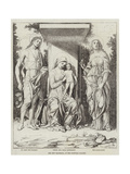 The New Mantegna, at the National Gallery Giclee Print by Andrea Mantegna