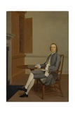 An Unknown Man Seated at a Table, C.1744-46 Giclee Print by Arthur Devis