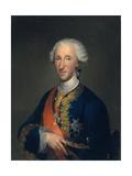 Portrait of Don Luis De Borbón, Infante of Spain,1769 Giclee Print by Anton Raphael Mengs