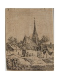 Landscape, Mid to Late 17th Century Giclee Print by Anthonie Waterloo