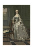 A Lady in a Drawing Room, C.1740-41 Giclee Print by Arthur Devis
