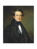 John William Casilear (1811-98), C.1840 Giclee Print by Asher Brown Durand
