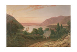 Hudson River with a Distant View of West Point, 1834 Giclee Print by Seth Eastman