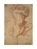 Semi-Nude Boy Giclee Print by Annibale Carracci