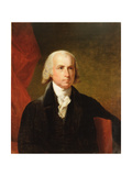 James Madison, 1835 after the Original by Gilbert Stuart Giclee Print by Asher Brown Durand