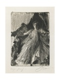 Maud Cassel (Mrs. Ashley), 1898 Giclee Print by Anders Leonard Zorn