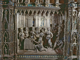 Feast of Herod, with Salome's Dance, Altar of Argento, 1478 Photographic Print by Antonio di Salvi