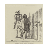 A Scene in the Prison at Chicago Giclee Print by Arthur Boyd Houghton